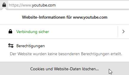 Websiteinformationen
